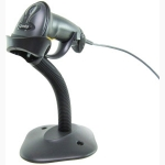 POS BARCODE SCANNER SYMBOL MOTOROLA LS2208 WITH STAND Black