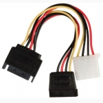 ΑΝΤΑΠΤΟΡΑΣ  SATA Male to 1 sata female + 1 molex female